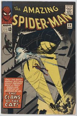 1963-1998, 2003-2013 Marvel The Amazing Spider-Man Vol. 1 #30 - The Claws of the Cat!