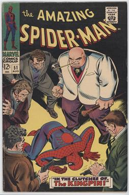 1963-1998, 2003-2013 Marvel The Amazing Spider-Man Vol. 1 #51 - In The Clutches Of...The Kingpin!