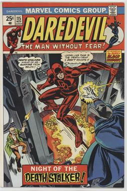1964-1998, 2009-2011 Marvel Daredevil Vol. 1 #115 - Death Stalks The City!