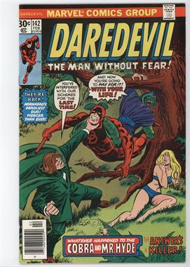 1964-1998, 2009-2011 Marvel Daredevil Vol. 1 #142 - The Concrete Jungle