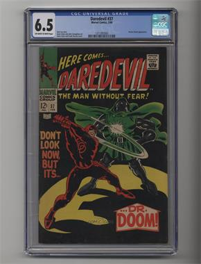 1964-1998, 2009-2011 Marvel Daredevil Vol. 1 #37 - Don't Look Now, But It's... Dr. Doom! [CGC 6.5]