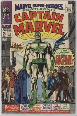 1967-1982 Marvel Marvel Super-Heroes Vol. 1 #12 - The Coming of Captain Marvel [Readable (GD‑FN)]