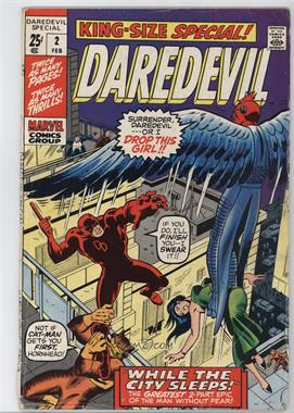 1967 Marvel Daredevil Annual #2 - While the City Sleeps [Readable (GD‑FN)]