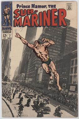 1968-1974 Marvel Sub-Mariner #7 - For President--The Man Called Destiny! [Good/Fair/Poor]