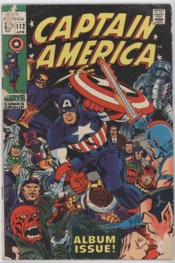 1968-1996, 2009-2011 Marvel Captain America Vol. 1 #112 - Lest We Forget [Good/Fair/Poor]