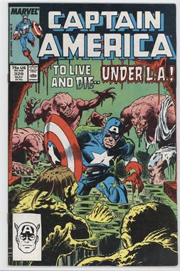 1968-1996, 2009-2011 Marvel Captain America Vol. 1 #329 - Movers and Monsters