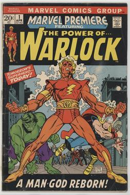 1972-1981 Marvel Marvel Premiere #1 - And Men Shall Call Him... Warlock [Readable(GD‑FN)]