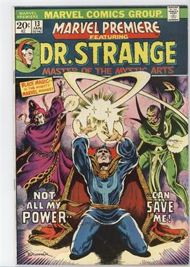"1972-1981 Marvel Marvel Premiere #13 - ""Time Doom"""