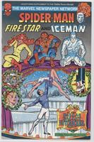 Spider-Man vs. Green Goblin. Promotional comic issued in 1980 by Aim Toothpaste…