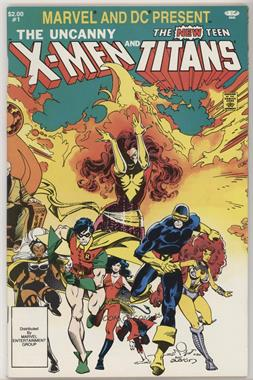1982; 1995 Marvel Marvel and DC Present Featuring The Uncanny X-Men and The New Teen Titans #1 - Apokolips... Now!