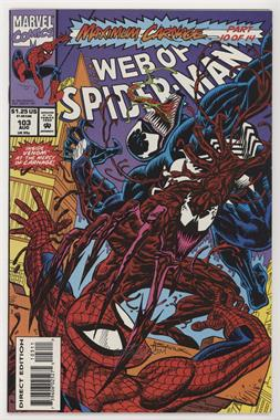 1985-1998; 2012 Marvel Web of Spider-Man Vol. 1 #103 - Maximum Carnage, Part 10: Sin City [Collectable(FN‑NM)]