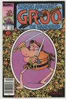 Groo has some trouble telling reality from fiction in..