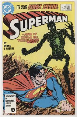 1987-2006 DC Comics Superman #1 - Heart of Stone [Collectable (FN‑NM)]
