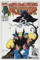Double cover-Wolverine/ Ghost Rider and Dr. Strange