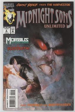 1993 Marvel Midnight Sons Unlimited #2 - Bloodbath!