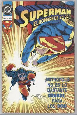 1994 Grupo Editorial Vid Superman El Hombre de Acero #2 - Superman El Hombre de Acero [Readable(GD‑FN)]