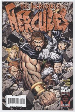 2008-2010 Marvel The Incredible Hercules #114 - Walls Of Troy, Part Three of the Incredible Herc
