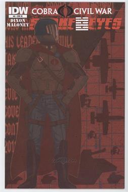 2011 - 2012 IDW Publishing Snake Eyes #8ri - Cobra Civil War Part 23