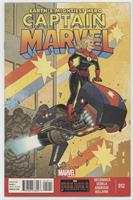 Still grounded from flying, Captain Marvel takes on a different and dangerous k…