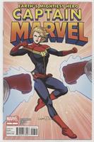Captain Marvel goes head to head with... Captain Marvel? Former Captain, Monica…