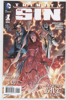2014 DC Comics Trinity of Sin #1 - Trinity of Sin