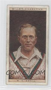 1928 Wills Cricketers - [Base] #1 - W.E. Astill