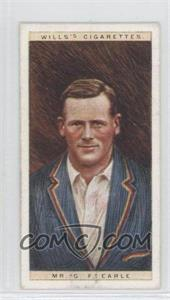 1928 Wills Cricketers - [Base] #11 - Mr. G.F. Earle