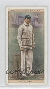 1928 Wills Cricketers - [Base] #14 - G. Geary