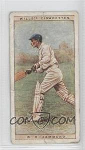 1928 Wills Cricketers - [Base] #18 - W.R. Hammond [Poor]