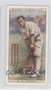 1928 Wills Cricketers - [Base] #2 - William Edric Bates
