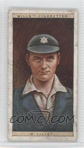 1928 Wills Cricketers - [Base] #29 - B. Lilley [Good to VG‑EX]