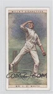 1928 Wills Cricketers - [Base] #47 - Mr. J.C. White