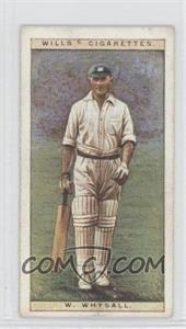 1928 Wills Cricketers - [Base] #48 - W.W. Whysall