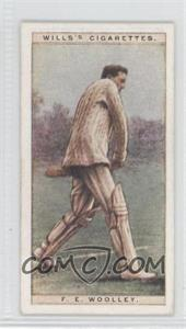1928 Wills Cricketers - [Base] #49 - Frank Woolley