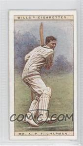 1928 Wills Cricketers - [Base] #5 - Mr. A.P.F. Chapman