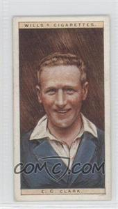 1928 Wills Cricketers - [Base] #6 - E.C. Clark