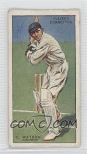 1930 Player's Cricketers - Tobacco [Base] #44 - Frank Watson [Good to VG‑EX]