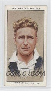 1934 Player's Cricketers - Tobacco [Base] #2 - John Arnold