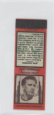 1937 Diamond Matchbooks - [Base] #JODO - John Doehring