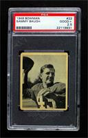 Sammy Baugh [PSA 2.5 GOOD+]
