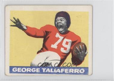 1948 Leaf - [Base] #20 - George Taliaferro [GoodtoVG‑EX]