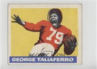 George Taliaferro [Good to VG‑EX]