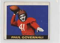 Paul Governali [Poor to Fair]