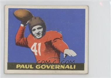 1948 Leaf - [Base] #30 - Paul Governali [GoodtoVG‑EX]