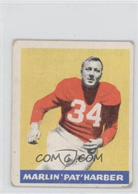 1948 Leaf - [Base] #33 - Pat Harder [GoodtoVG‑EX]