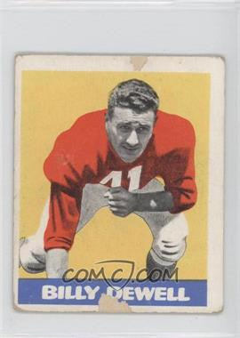 1948 Leaf - [Base] #39 - Billy Dewell
