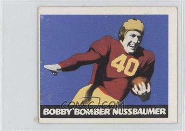 1948 Leaf - [Base] #43.1 - Bob Nussbaumer (Red Jersey)