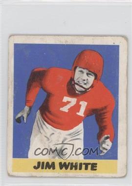 1948 Leaf - [Base] #45 - Jim White
