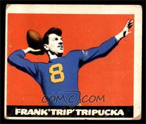 1948 Leaf - [Base] #49 - Frank Tripucka [GOOD]