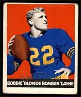 Bobby Layne (Spelled Bobbie; Yellow Pants) [VG]